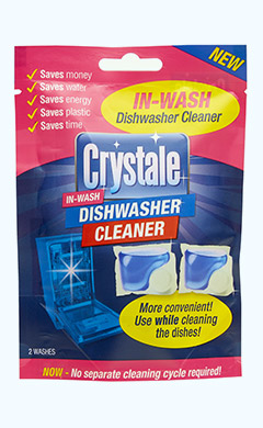 Crystale In Wash Dishwasher Cleaner