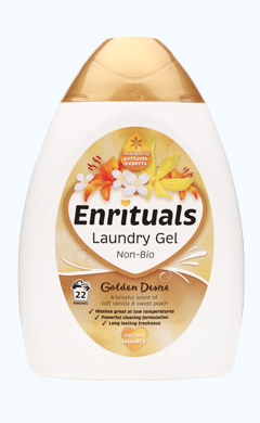 Enrituals Golden Desire Laundry Gel