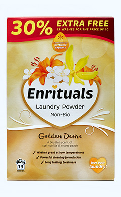 Enrituals Golden Desire Laundry Powder