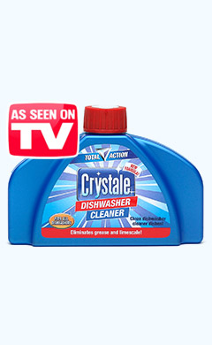 Crystale Total Action Dishwasher Cleaner