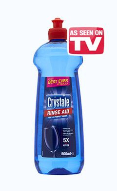 Crystale Total Action Rinse Aid
